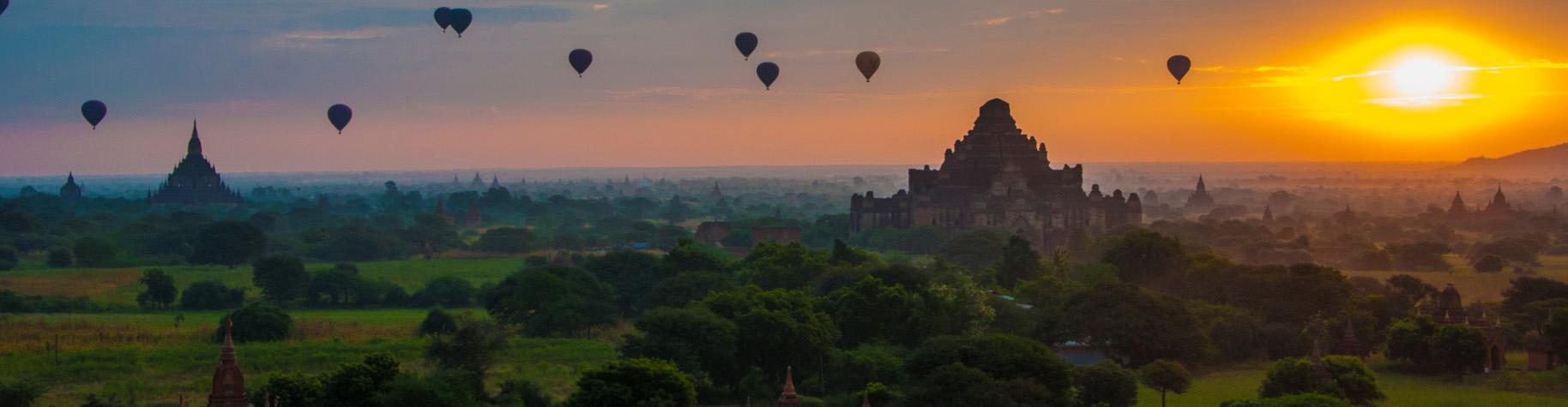 De magische tempels van Bagan