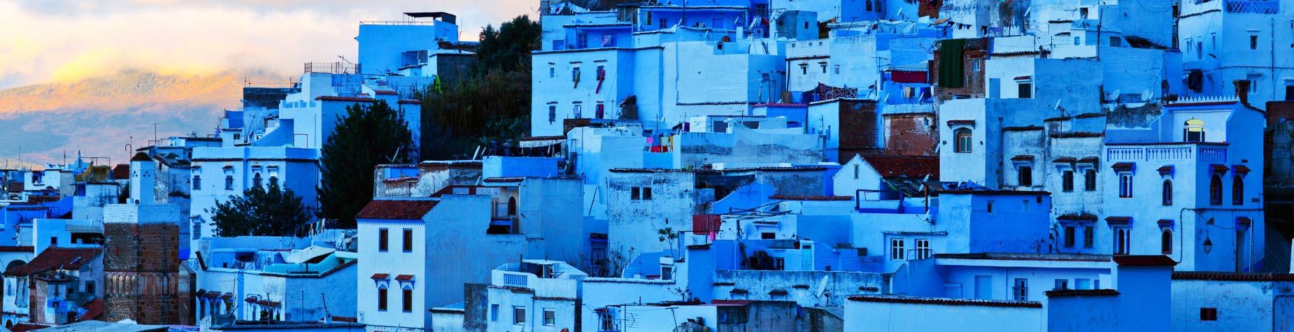De blauwe stad Chefchaouen