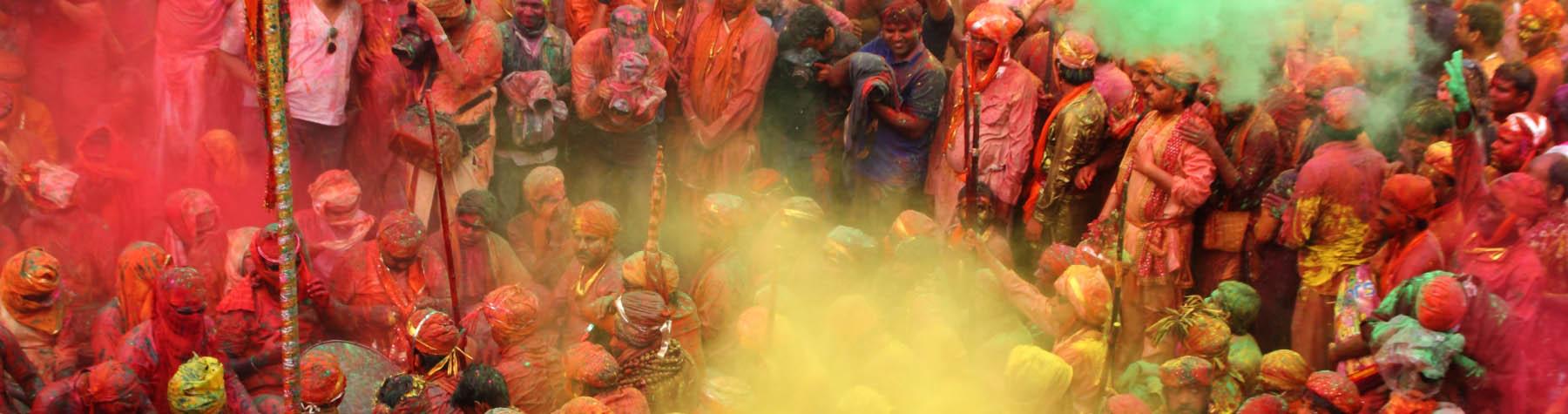 Holi; het kleurrijkste festival ter wereld