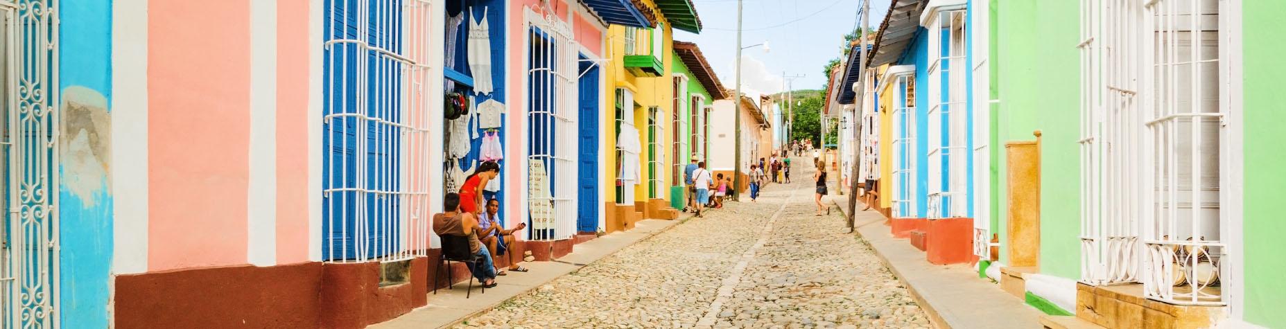 Authentiek Trinidad in Cuba